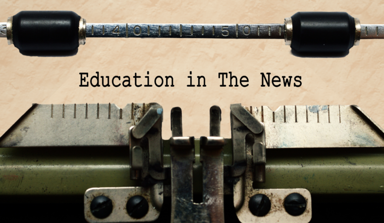 New Education News Page Just for You!
