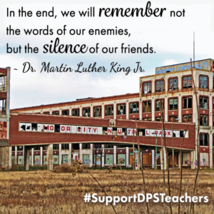 Dr. Martin Luther King's Dream For Detroit Public Schools