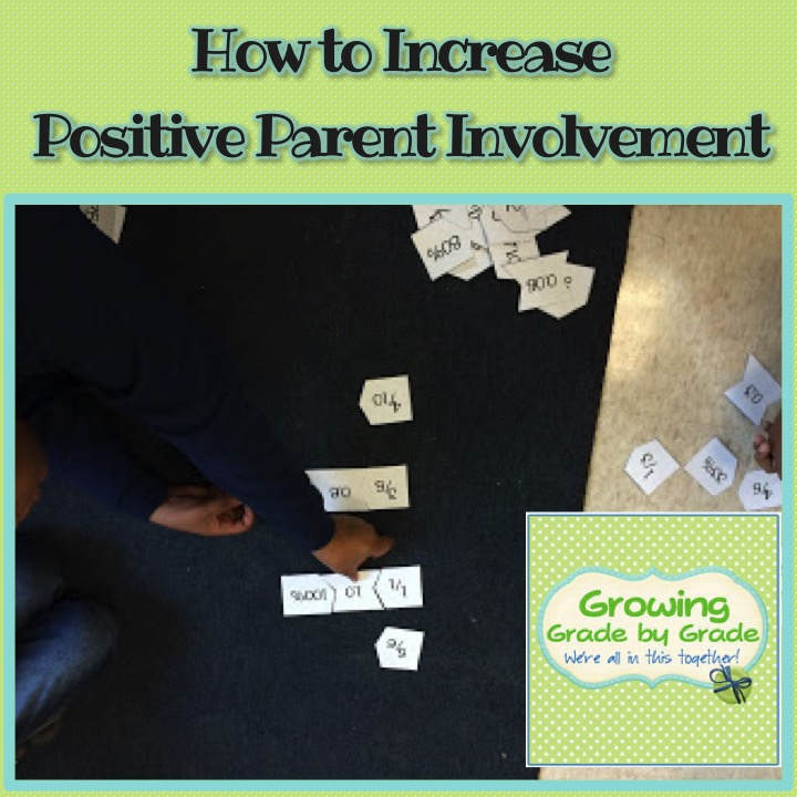 How to Increase Positive Parent Involvment