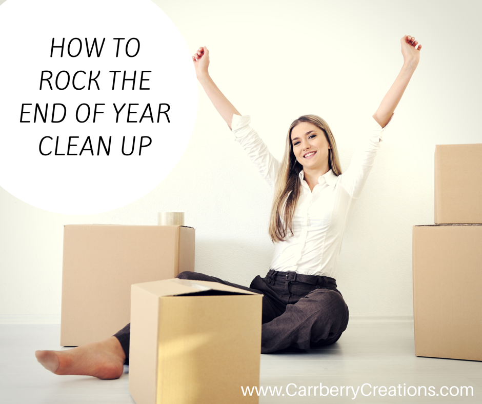 How to Rock the End of The Year Clean Up