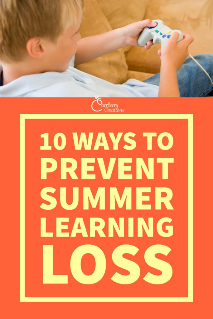 "Summer learning loss, sometimes called the ""summer slide"" is a major problem for students. Read for 10 easy ways to battle this yearly problem."