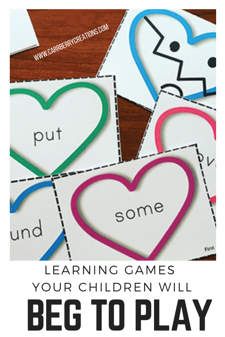 Sight Words Games for Parents