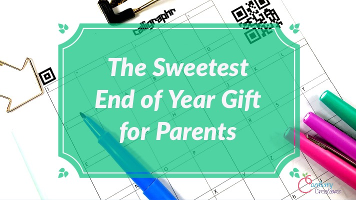 The Sweetest End of Year Activity