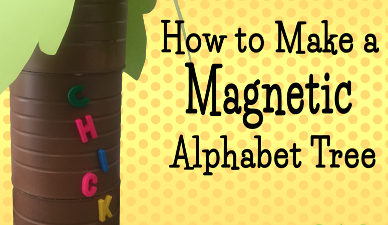 How to Make Your Own Alphabet Tree