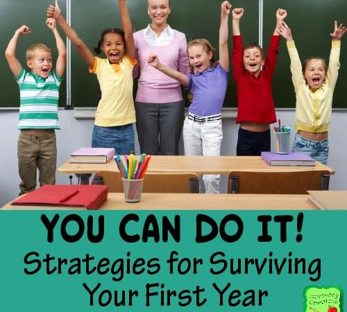 You can Do It! Strategies for Surviving Your First Year Teaching