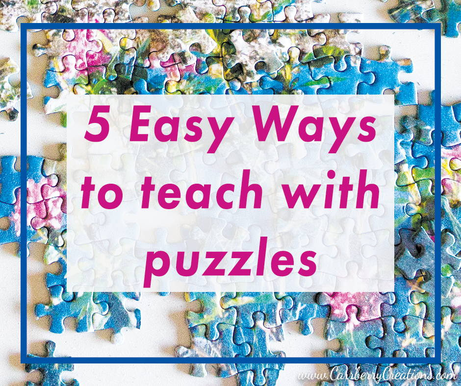 5 Easy Ways I Increase Student Success With Puzzles
